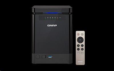 QNAP™ TS-453Bmini-4G-EU 4 Bay NAS, Celeron® J3455 1.5 GHz , 4GB DDR3L RAM, EU Edition