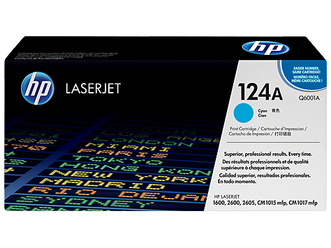 HP Toner clj Cyan Print Cartridge (2000 pages)