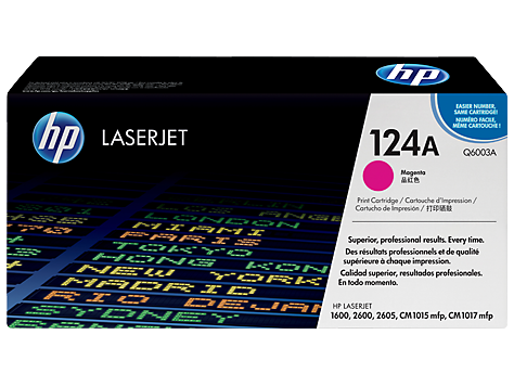 HP Toner clj Magenta Print Cartridge (2000 pages)