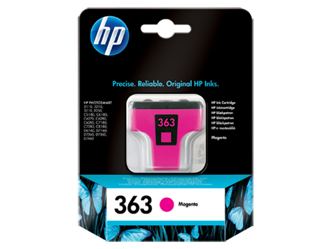 HP No. 363 Magenta Ink Cartridge (3,5 ml)