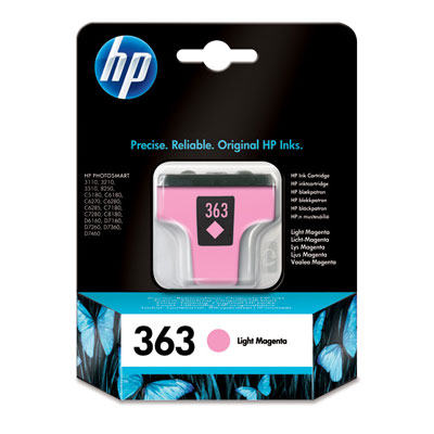 HP No. 363 Light Magenta Ink Cartridge (5,5 ml)