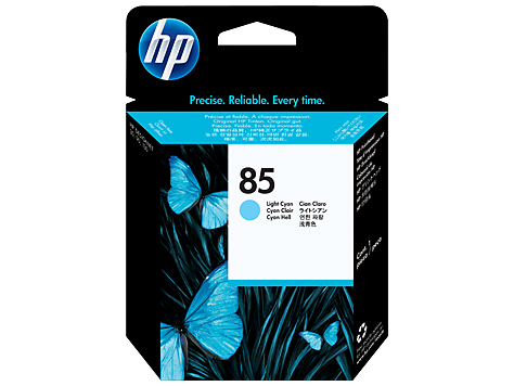 HP No. 85 Light Cyan Printhead