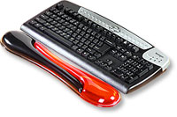 Kensington Duo Gel Wrist Rest Wave RED