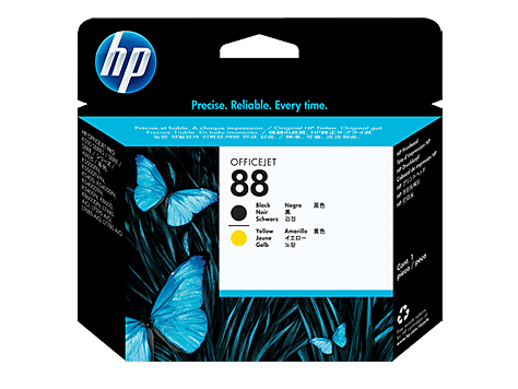 HP No. 88, black and yellow Printhead