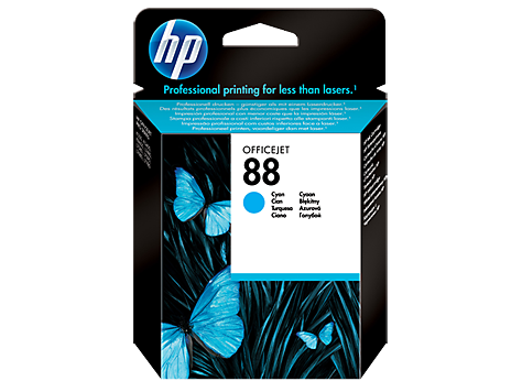 HP No. 88 Cartridge, cyan (10 ml)