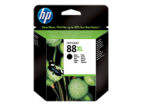 HP No. 88 Cartridge, large black(58,9 ml) (cca2350 strán)