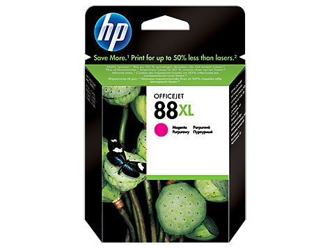 HP No. 88 Cartridge, large magenta (17,1 ml) (cca1200 strán)