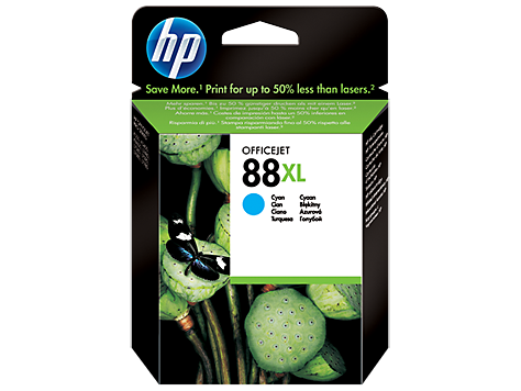 HP No. 88 Cartridge, large cyan (17,1 ml) (cca1200 strán)