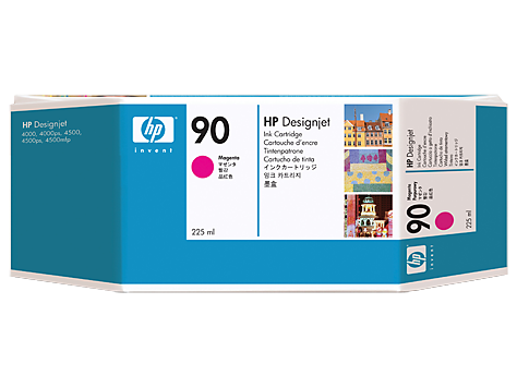 HP No. 90 Magenta Ink Cartridge (225 ml)