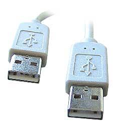 Kábel USB 2.0 A-A prepojovací 5m
