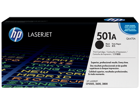 HP Toner Cartridge Black for CLJ 3600/3800, up to 6,000pages