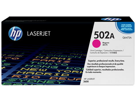 HP Toner Cartridge Magenta for CLJ 3600, up to 4,000 pages