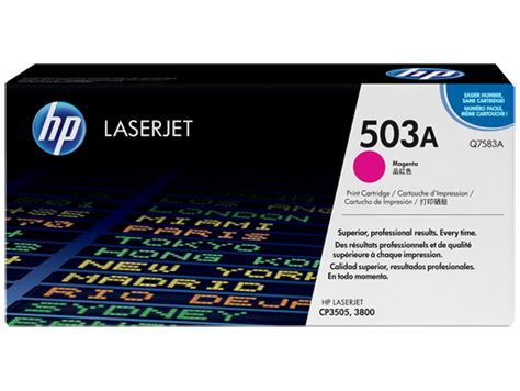 HP Toner Cartridge Magenta for CLJ 3800, up to 6,000 pages