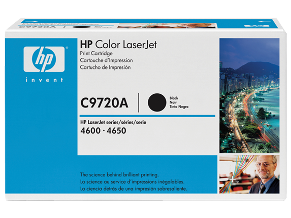 HP LaserJet Smart Print Cartridge CLJ4600/4650 black 9.000pg