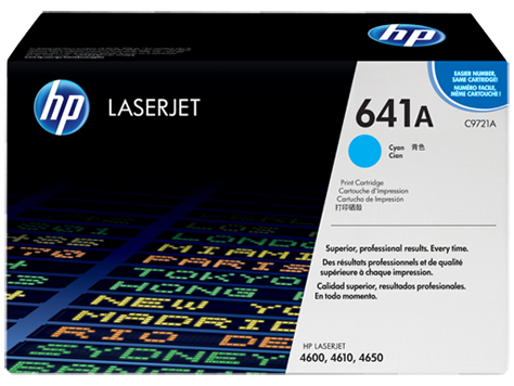 HP LaserJet Smart Print Cartridge CLJ4600/4650 cyan 8.000pg