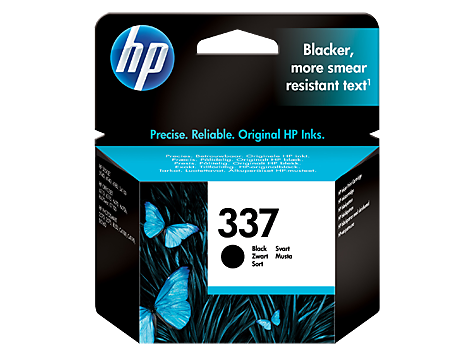 HP No. 337 Black Inkjet Print Cartridge (11 ml)