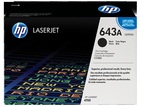 HP Color LaserJet Black Print Cartridge for CLJ4700 11.000p