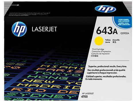 HP Color LaserJet YELLOW Print Cartridge for CLJ4700 10.000p