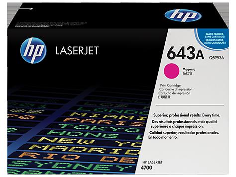 HP Color LaserJet MAGENTA Prnt Cartridge for CLJ4700 10.000p