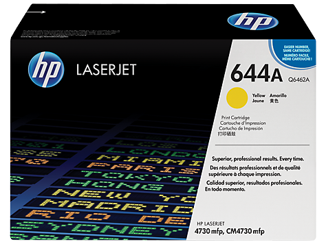 HP Color LaserJet YELLOW Cartridge for CLJ4730mfp 12.000p
