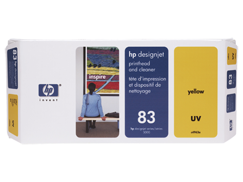 HP UV No. 83 Yellow Print Head for HP DSJ 5000
