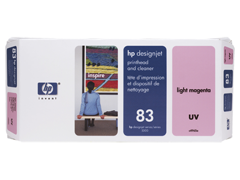 HP UV No. 83 Light Magenta Print Head for HP DSJ 5000