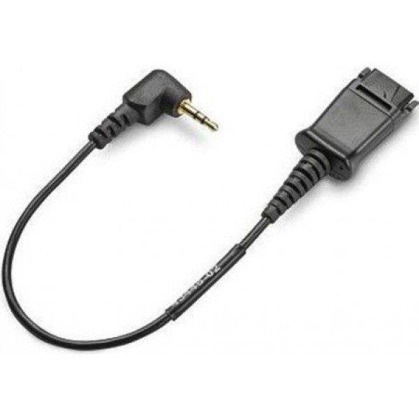 Plantronics kábel na pripojenie náhl. súprav k telefónom CISCO vstup 2,5 mm jack (Cable assy 2,5mm)