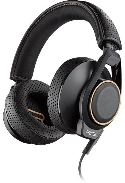 Plantronics RIG 600, herné slúchadlá s mikrofónom, čierne