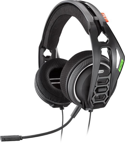 Plantronics RIG 400HX, herné slúchadlá s mikrofónom, pre Xbox One, čierne