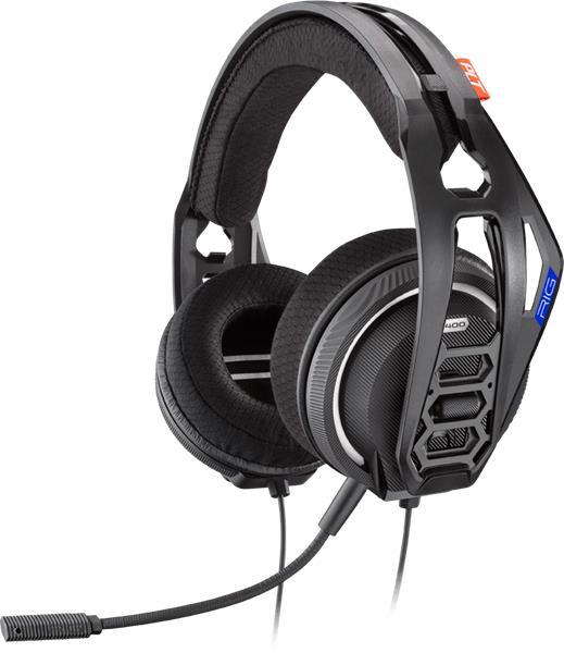 Plantronics RIG 400HS, herné slúchadlá s mikrofónom, pre PS4, čierne