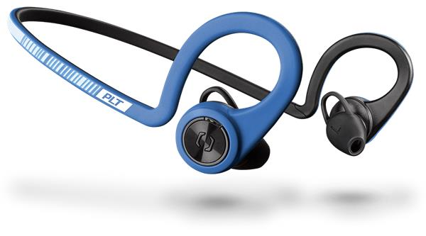 Plantronics Backbeat FIT Stereo Headset , Bluetooth v3.0, IP57, modrý