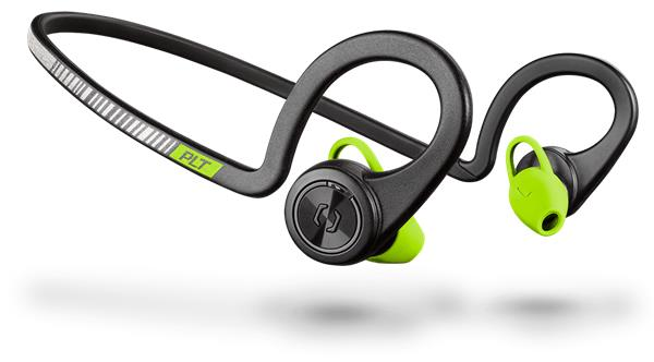 Plantronics Backbeat FIT Stereo Headset, bluetooth v3.0, IP57, čierny