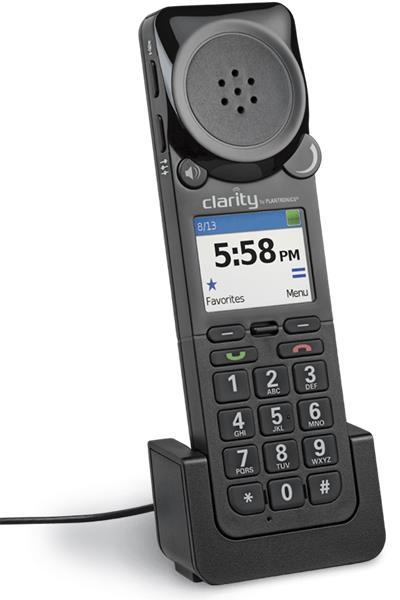 Plantronics CLARITY 340-M Microsoft, externý telefón pre UC volania, čierny