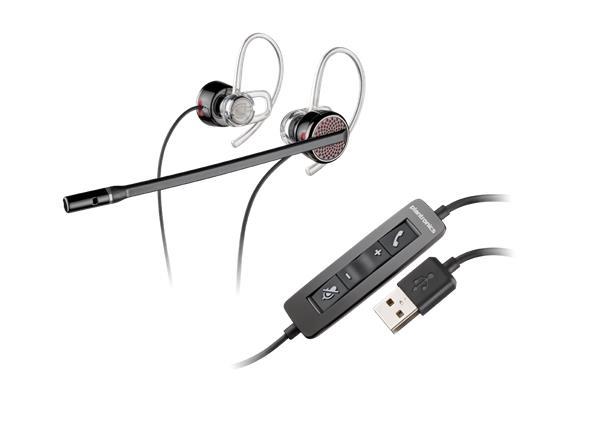 Plantronics BLACKWIRE C435 headset Stereo, USB-A