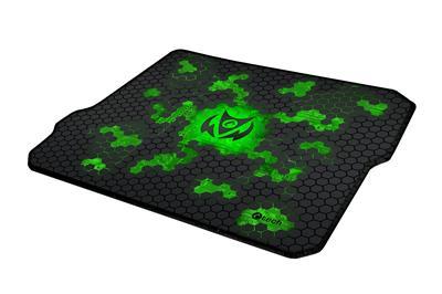 Hráčska podložka pod myš C-TECH ANTHEA CYBER GREEN, 320x270x4mm, obšité okraje