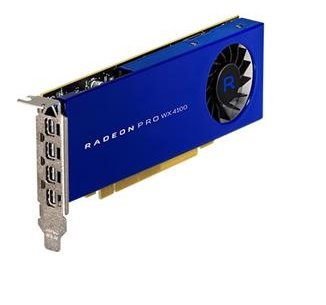 Grafická karta AMD Radeon Pro WX 4100 (4 GB) 4xDP