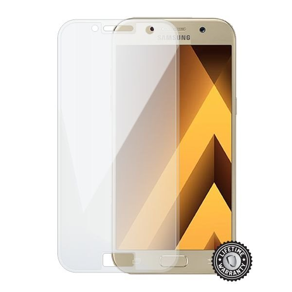 Screenshield SAMSUNG A520 Galaxy A5 (2017) (full COVER transparent) - Film for display protection