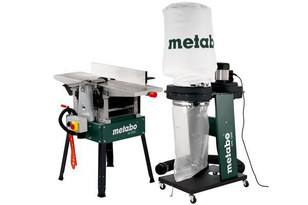 Metabo HC 260 C 2,80 DNB Set * Hobľovačka