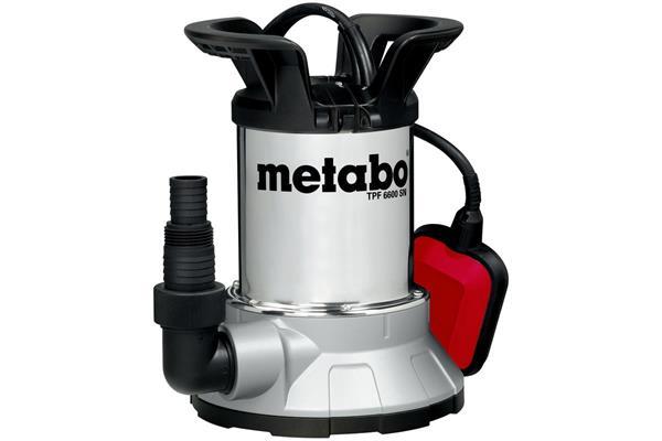 METABO TPF 6600 SN Ponorné čerpadlo na čistú vodu s funkciou úplného vyčerpania vody
