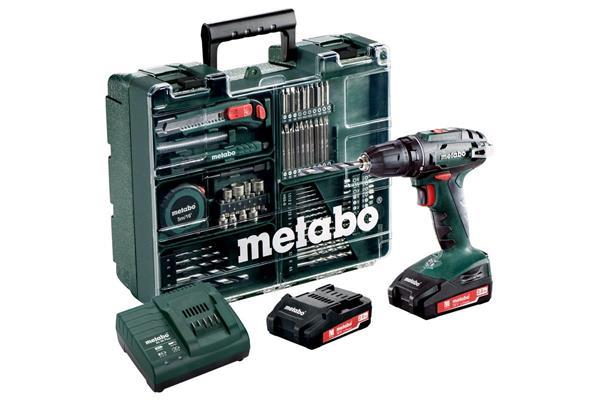 Metabo BS 18 Set * Mobilná dielňa TV00