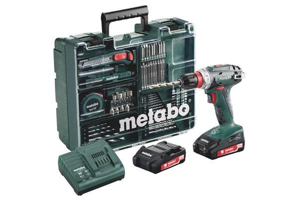 Metabo BS 18 Quick Set * Mobilná dielňa TV00