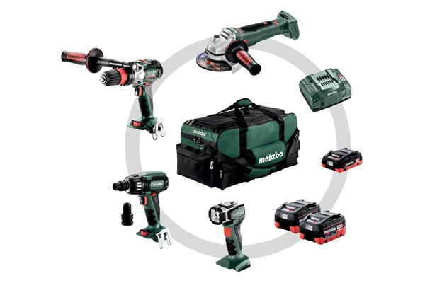 Metabo Combo Set Kov 4.1 LiHD