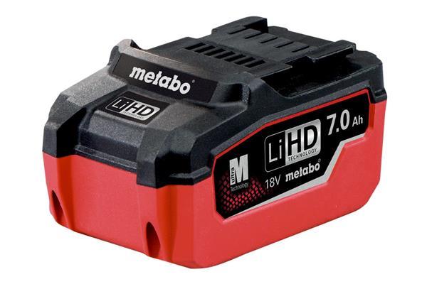 Metabo Akumulátor LiHD 18 V - 7,0 Ah