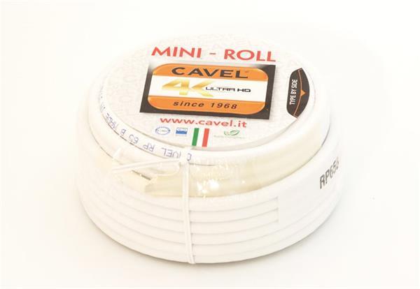 CAVEL kábel koaxiálny 6,6mm PVC konektor 2xF - 15m