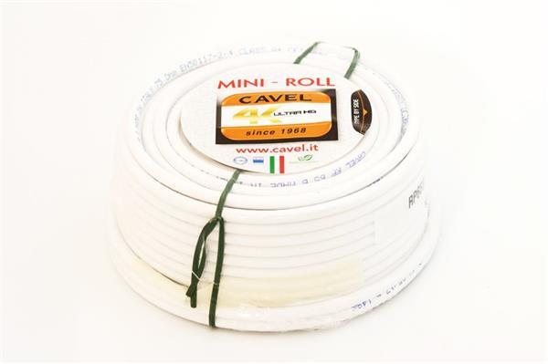 CAVEL kábel koaxiálny 6,6mm PVC konektor 2xF - 30m