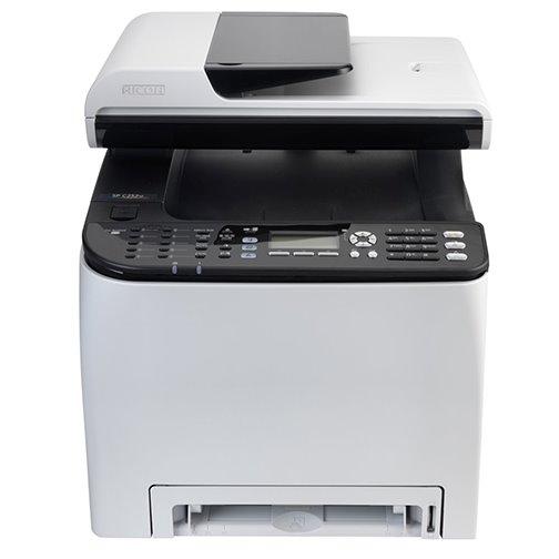 RICOH SP C252SF A4, color laser, print, copy, scan, PCL/PS, duplex, LAN, WiFi, NFC