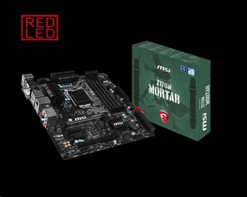 MSI Z170M MORTAR/Socket 1151/DDR4/USB3/DSUB/DVI/HDMI/RTL8111H/mATX
