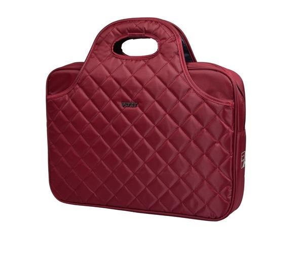 PORT DESIGNS FIRENZE Toploading dámska taška na 15,6' notebook, červená