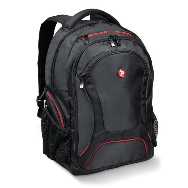 PORT DESIGNS COURCHEVEL batoh na 17,3' notebook a 10,1' tablet, čierno-červený
