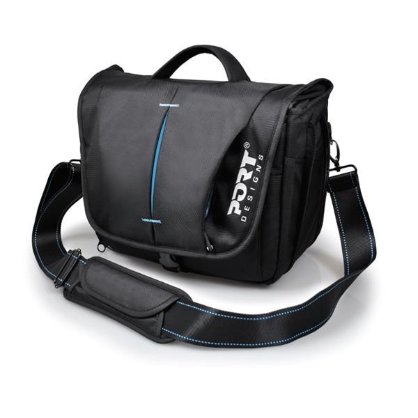 PORT DESIGNS HELSINKI taška na zrkadlovku, čierna